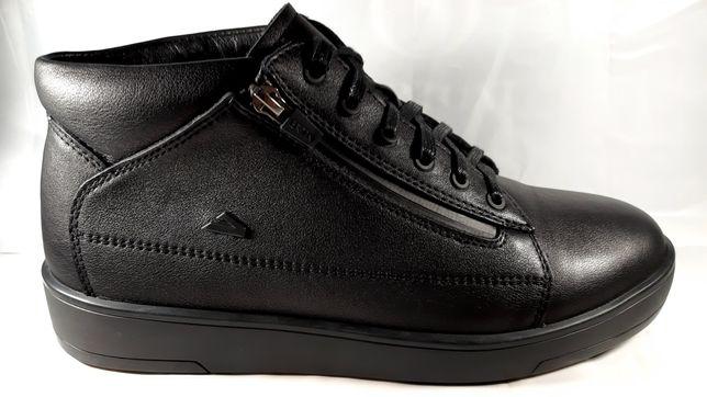 Стильные зимние ботинки BERTONI , спорт-комфорт.40,41,42,43,44,45