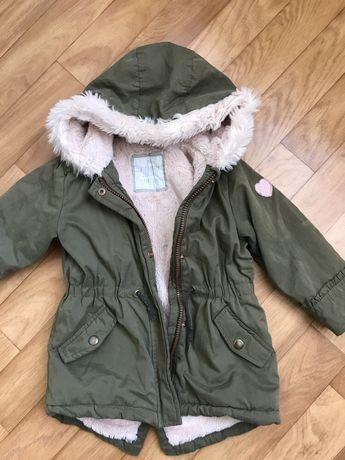 Куртка парка деми демисезонная