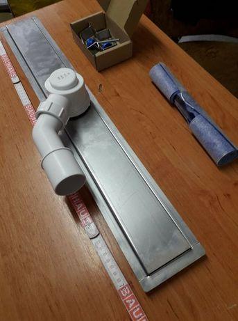 Odpływ liniowy 70 cm z maskownicą Prestige steel