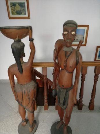 Estatuas Africanas Casal