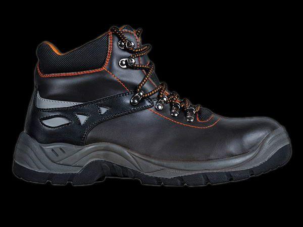 Buty robocze skórzane PEAKREIS,nowe,nieużywane r.39
