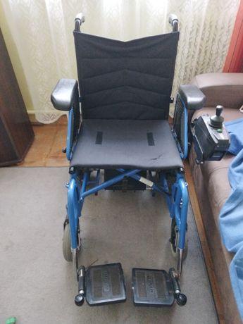 Wózek inwalidzki na akumulator