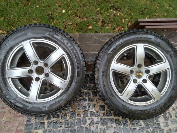 Продам зимові шини KUMHO 195/65 r15