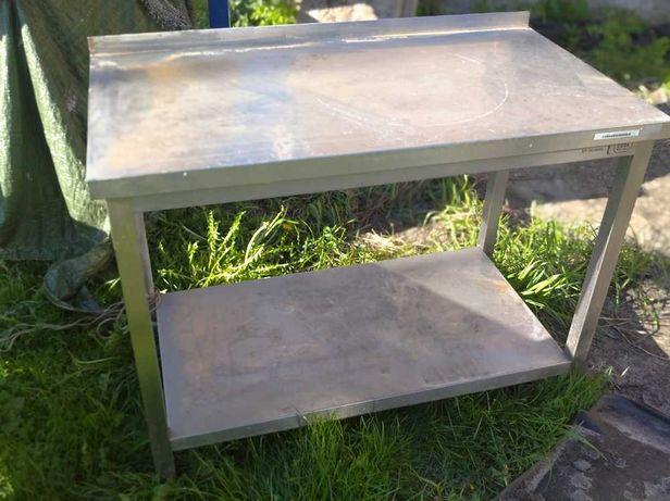 Blat roboczy, stół, nierdzewny, DORA METAL 110 cm x 60 cm