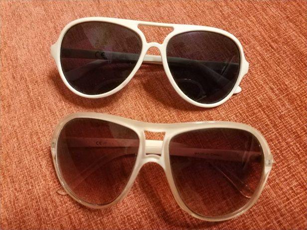 Okulary przeciwsłoneczne damskie 2pary!