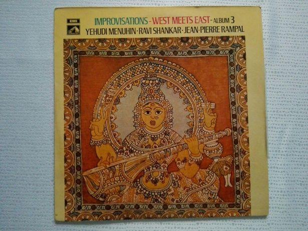 LP/ Menuhin, Shankar, Rampal - Improvisations (winyl)