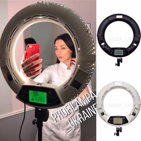 Кольцевая LED Лампа/Кольцевой свет!FE-480ii-мощность 96 Вт!+подарки !