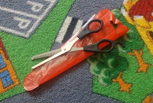 Nożyczki do cieniowania - Tylko 5 zł
