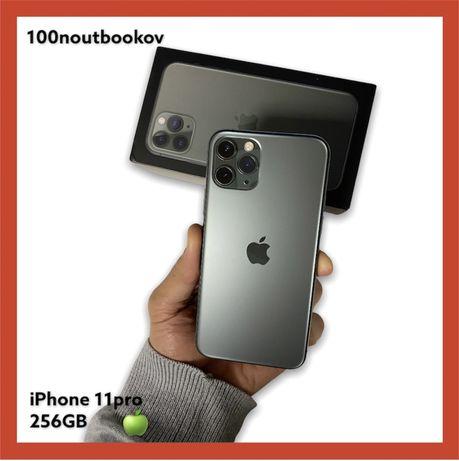 Apple iPhone 11Pro 256GB Midnight green Unlocked Б/У Комплект