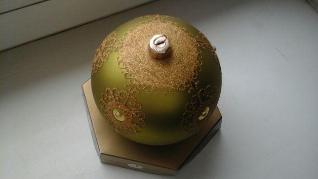 Елочная игрушка, шар D 12 см