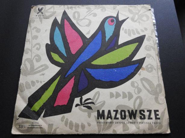 """Płyta winylowa 10"""" Mazowsze, Pod borem, Przepiórka, Cyraneczka"""