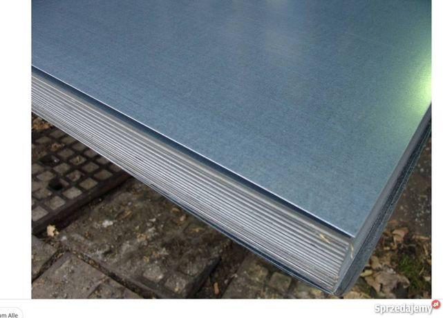 blacha ocynk 2mm 125x250cm przęsło ogrodzeniowe panel słupek