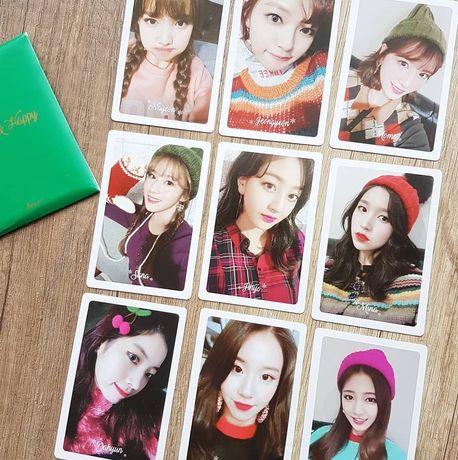 предзаказные карточки twice merry and happy kpop