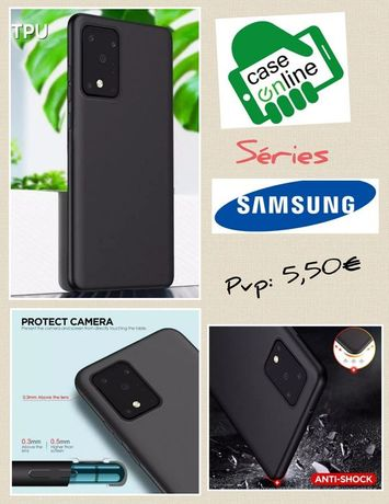 Capa Silicone Mate Samsung Note 20 /Note 20 Ultra /Note 10 Lite/S20 FE