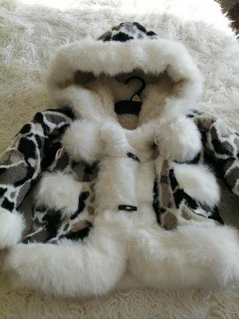 Детская, зимняя, тёплая, верхняя одежда для девочки. Шуба.