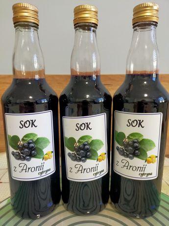 Sok z aronii z cytryną 500 ml.