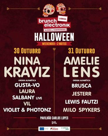 Brunch Elektronik Halloween - 31/10 Amelie Lens