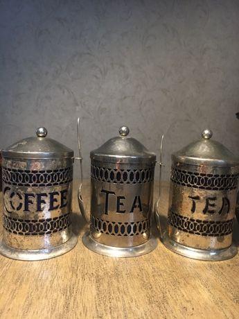 Емкости для чая и кофе. Англия