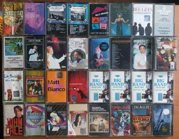 Kasety magnetofonowe muzyka zagraniczna pop rock dance jazz blues