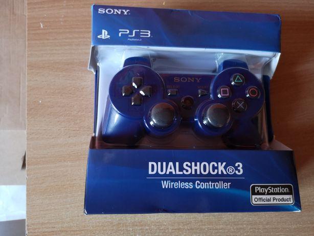 Pad bezprzewodowy Sony dual shock playstation 3 niebieski nowy