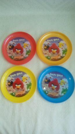 talerzyki 4 szt Angry birds