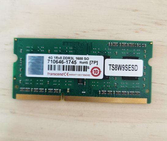 Memória Portátil Transcend 4GB DDR3L-1600 SO-DIMM  **NOVO C/garantia**