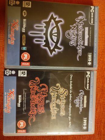 Gra Neverwinter Nights plus Dwa dodatki