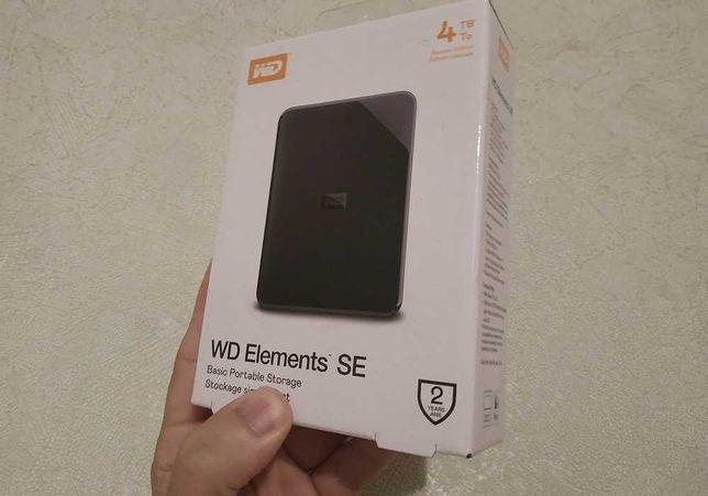 WD 4TB запечатан