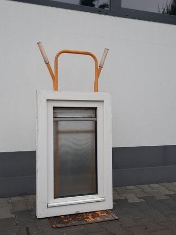 Okno Gospodarcze PCV 59 x 93 OKNA Inwentarskie Używane WYSYŁKA