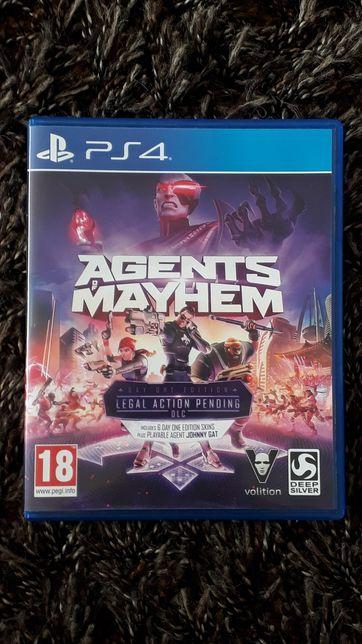 Agents of Mayhem PL (gra PS4)