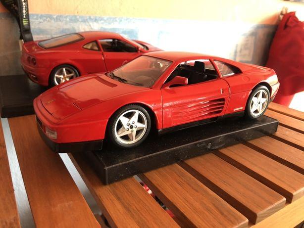 Model Ferrari 348 Burago 1:18