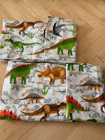 Постіль дитяча нова. Розмір 150*190. Постіль з динозаврами.