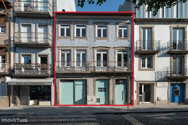 Prédio para arrendamento no Centro de Braga