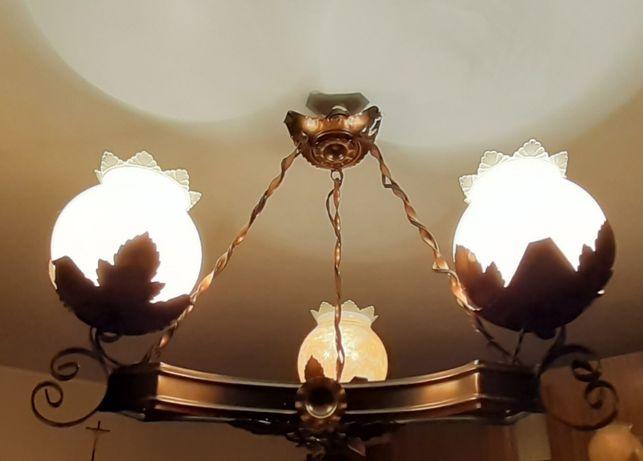 lampa miedziana do sprzedania