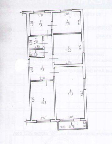 Продам 3-х трёх комнатную квартиру на Крошенской .