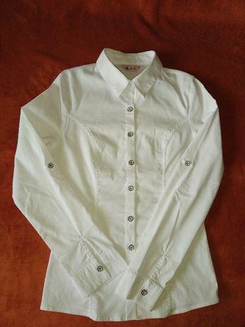 Блузка белая р 134