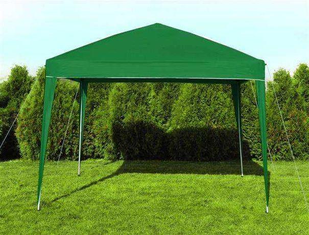Tenda de jardim Toldo Verde tipo harmónica 3x3m 7901 Novas em caixa