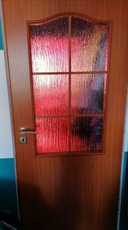 Drzwi wewnętrzne - 1 pokojowe 80, 1 łazienkowe 60
