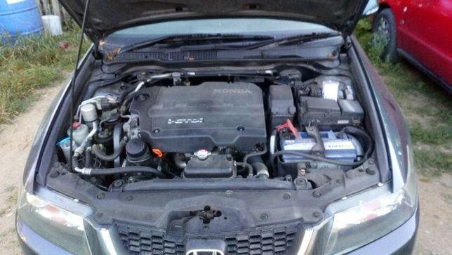 honda accord VII silnik 2.2 +kompletny osprzęt+skrzynia