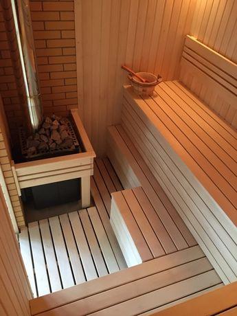Строительство саун, русских бань и комнат отдыха под ключ.