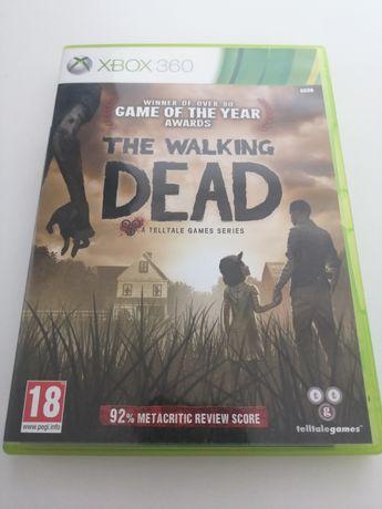 Gra the walking dead xbox 360 Stan bardzo dobry