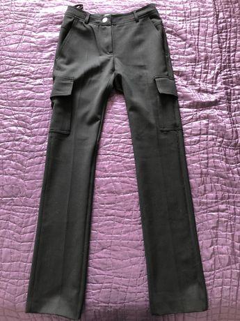 Spodnie typu kowbojki,eleganckie, Simple, rozm.34