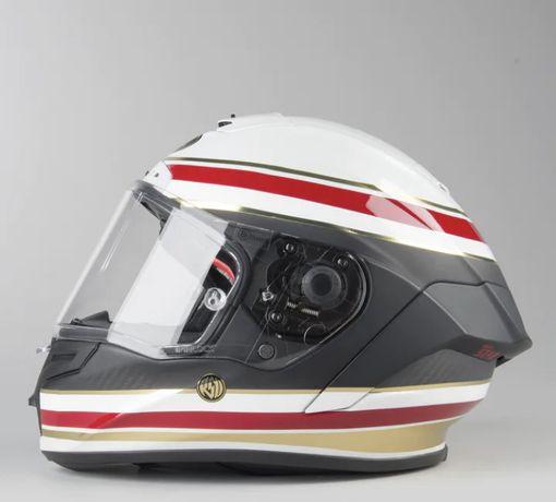 Bell Race Star XL Formula Biało Czerwony