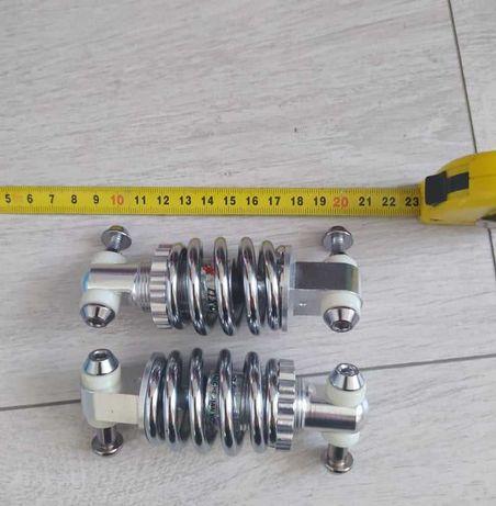Amortyzatory 100mm + bateria 11Ah 48v