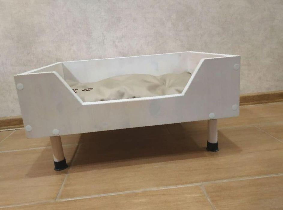 Удобная лежанка для собаккошек из сосны ЭКО 2 цвета 55 см Киев - изображение 1