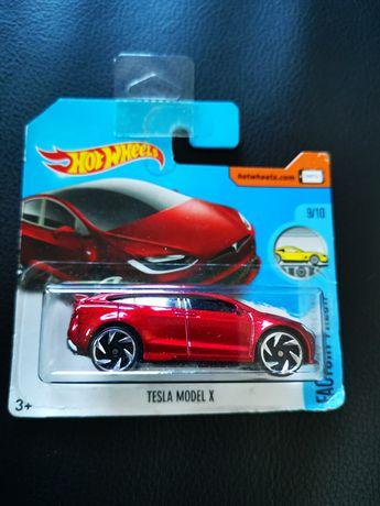 Tesla model X hot wheels novo com portes incluídos