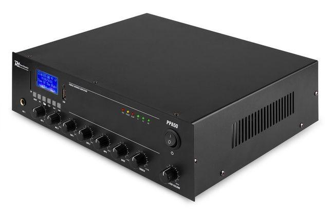 Wzmacniacz instalacyjny z mikserem 100V 50W PD PPA50