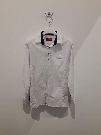 Белая рубашка,рост 134-140