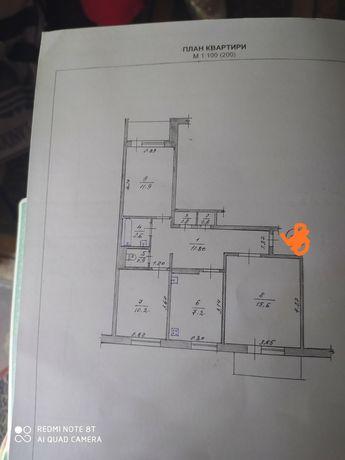 3х квартира  Витрука