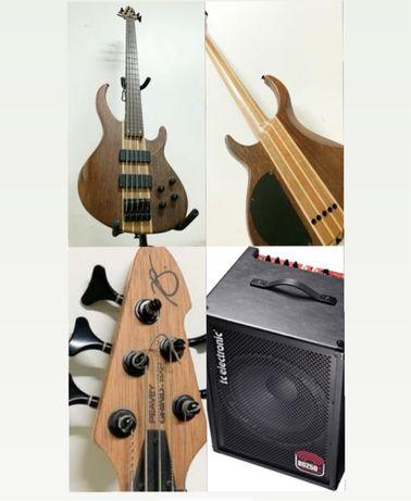 Pack Baixo Peavey Grind + TcEletronic BG250